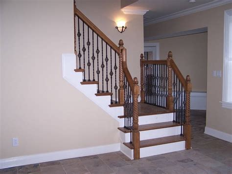 banister stairs ideas stair railings and half walls ideas basement masters