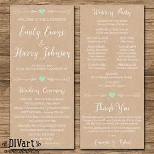 how to do wedding programs 25 best ideas about wedding programs on ceremony programs wedding programs and