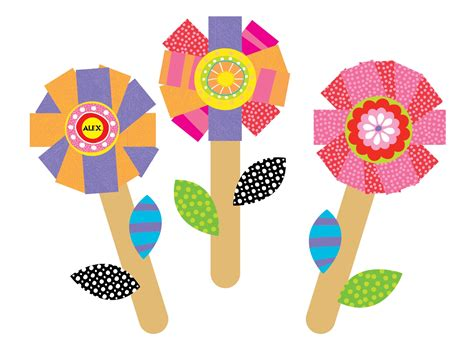 flower and craft for march 2013 alex toys official