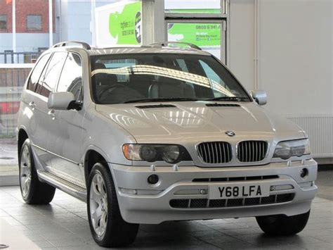 automobile air conditioning repair 2001 bmw x5 interior lighting used bmw x5 2001 silver paint petrol 4 4i v8 sport 5dr 4x4 for sale in sevenoaks uk autopazar