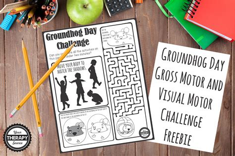 groundhog day buster visual motor skills archives your therapy source