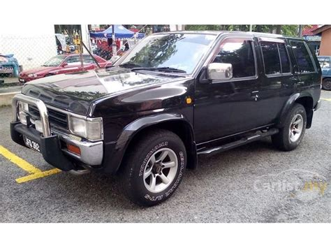 nissan 2000 4x4 nissan terrano 2000 2 4 in selangor manual suv black for
