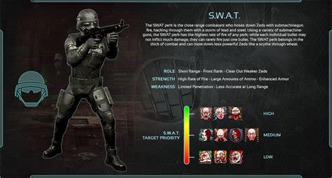 killing floor 2 perks list gameratedgames