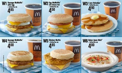 Mcd Breakfast coupon malaysia mcdonald weekday breakfast special from rm4