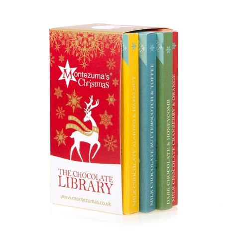 charity donation christmas chocolate bar gift set