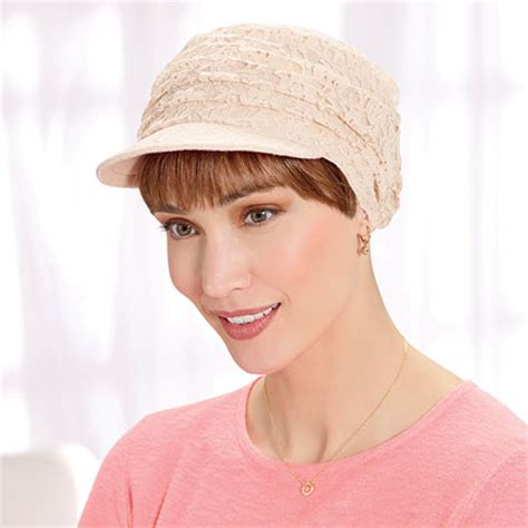 bangs for chemo hats women s newsboy caps chemo hats pretty hats for cancer