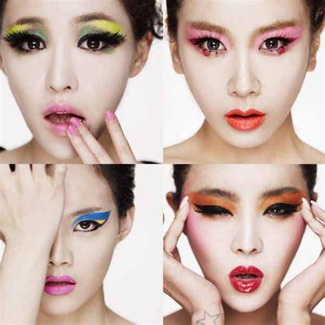 tutorial make up girlband korea makeup images korean girl band brown eyed girls makeup