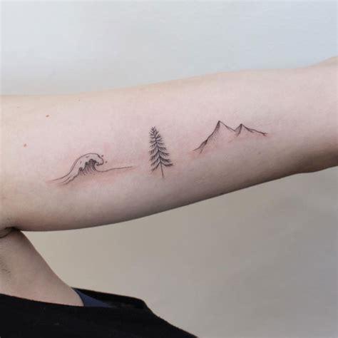 minimalist tattoo nature tattoos by jessica chen