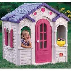 step 2 cottage playhouse used sweetheart playhouse by step2 upc 733538790104