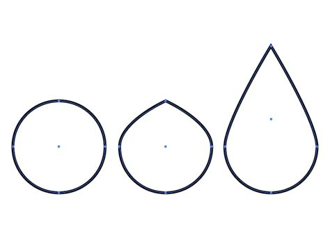 tear drop shape clipart best