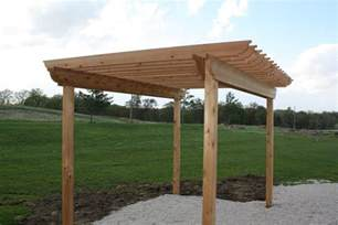 How Build A Pergola by How To Build A Pergola The Hansen Family