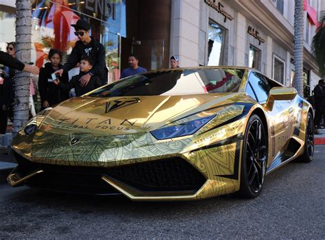 gold chrome lamborghini gold chrome lamborghini huracan madwhips