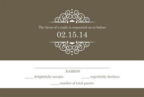 wedding response wording wedding rsvp wording formal and casual wording you will