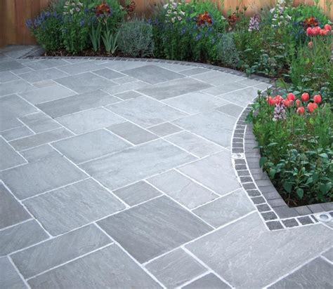 Patio Garden Designs Paving 25 Best Ideas About Garden Paving On Paving