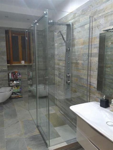 piatto doccia incassato nel pavimento foto box doccia incassato nel piatto a pavimento di