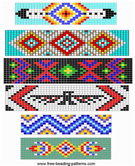 beadwork simple free loom beading pattern simple barrettes design