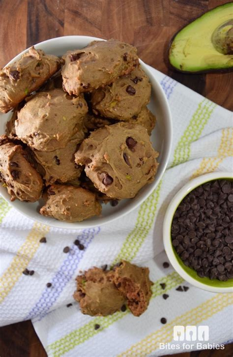 healthy fats besides avocado avocado chocolate chip cookies recipe bites for foodies
