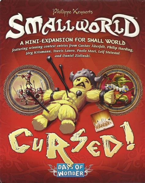 Small World Cursed Small World Cursed Br 230 Tspil Papskubber Dk