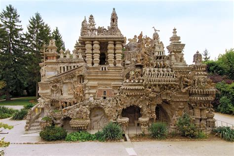 cheval homes for palaces made out of pebbles ferdinand