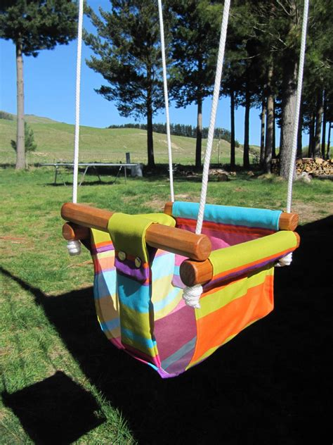 baby swings nz baby toddler canvas swing felt