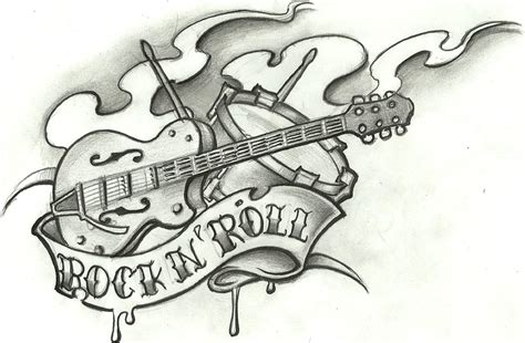 rock music tattoo designs my world of rock