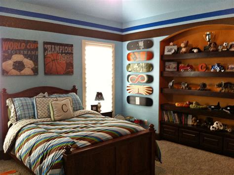 vintage sports themed boy s bedroom traditional vintage sports boys room project nursery