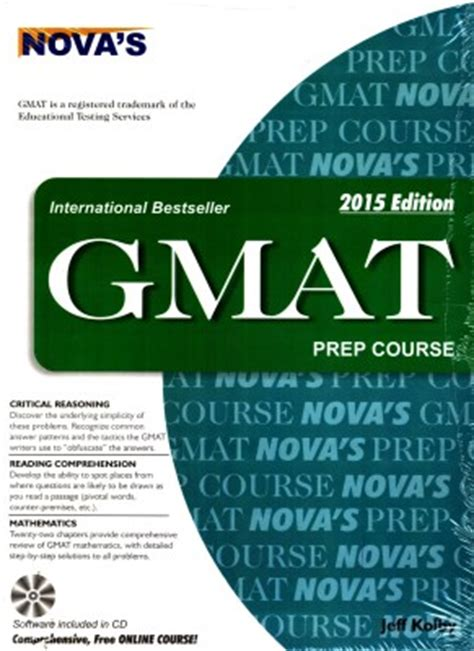 Gmac Mba Prep by Reference Books For Preparation Of Gmat