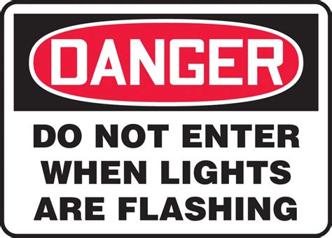 flashing lights for signs warning do not enter signs clipart best