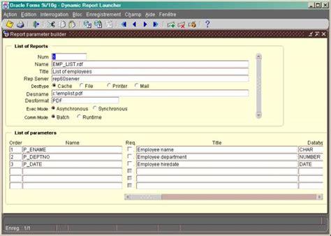 tutorial oracle report builder oracle report builder tutorial pdf