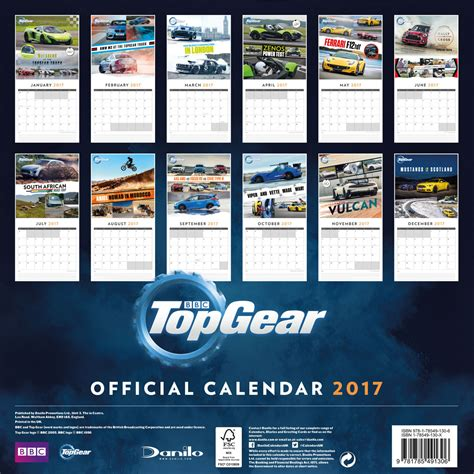 libro top gear official 2018 top gear kalend 225 ř 2018 na posters cz