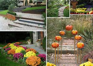 Fall Landscaping Ideas Garden Pathway Ideas For Fall