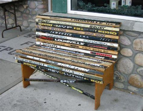 Sticks N Stuff Furniture by Diy Hockeystickfurnitureplans Plans Free