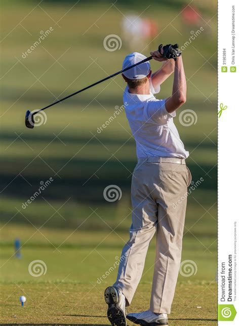 swing box golf golf junior tee box swing ball editorial stock image