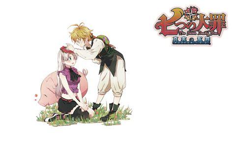 anoboy seven deadly sins meliodas and elizabeth nanatsu no taizai wallpaper anime