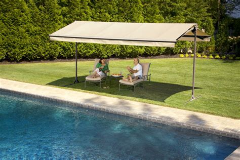 Portable Patio Awnings by Create Shade Options With Awnings And Trees Outdoor Living