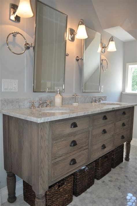 bathroom vanities distressed look with excellent