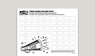 top sheets box tops collection sheets boxtops4education