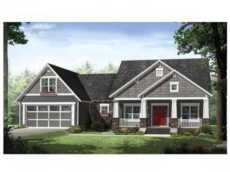 single story ranch style house plans single story craftsman style homes craftsman style ranch