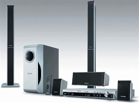 Home Theater Panasonic panasonic sc pt250 region free home theatre system scpt250 pt250 world import