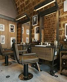 25 best ideas about barber shop interior on