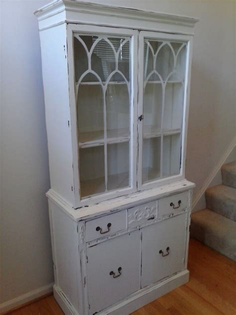 white painted china cabinet painted china cabinets