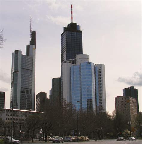 File Frankfurt Am Hessen Germany Skyline Der Banken