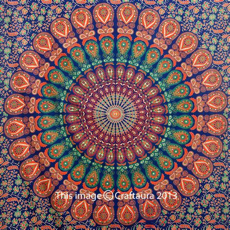 bed tapestry mandala tapestry hippie wall hanging twin tapestries