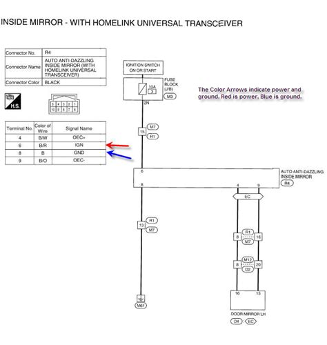 wiring a home link transmitter wiring free engine image