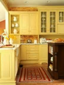 Butter Yellow Kitchen Cabinets Butter Kitchens Pinterest