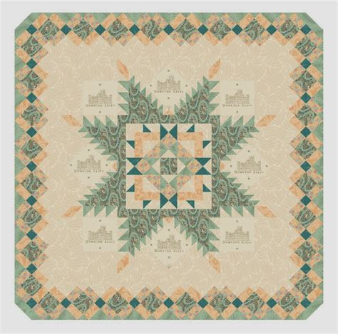 Downton Quilt Patterns by And Quilters New Quilt Kits