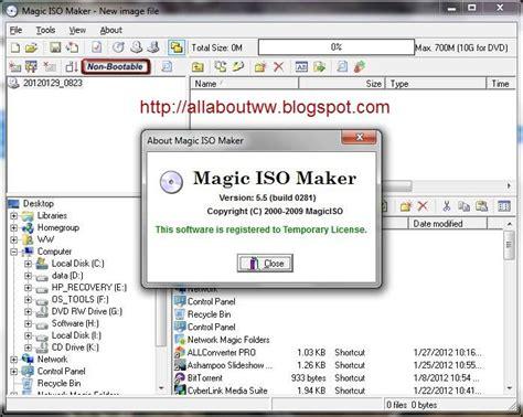 magic iso maker full version with crack magic iso maker 5 3 setup serial full version build 239