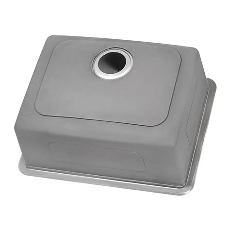 undermount bar prep kitchen sink  gauge
