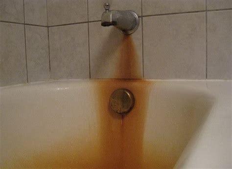 remove rust  bathtub toilet  sink easy diy