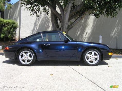 porsche midnight blue midnight blue metallic 1995 porsche 911 coupe